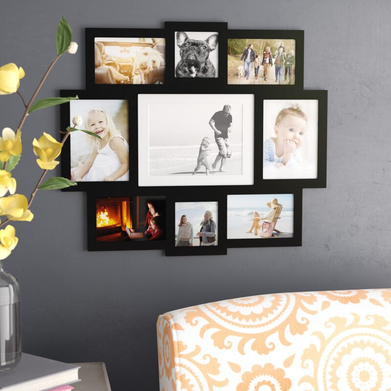 Laude Run Pilger 9 Opening Central Wall Hanging Picture Frame Reviews Wayfair