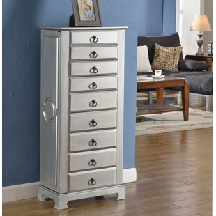 Wildon Home ® Large Jewelry Armoire
