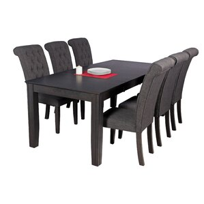 Avangeline Traditional 7 Piece Wood Dinin..