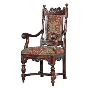 Grand Classic Edwardian Arm Chair Design Toscano