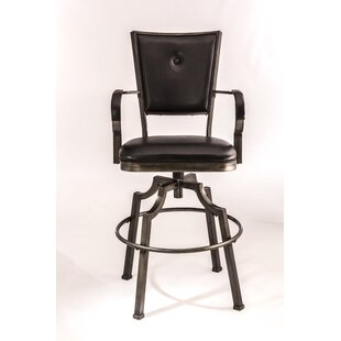 Célia 26 Swivel Bar Stool 17 Stories