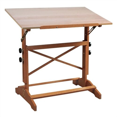 default_name - Alvin And Co. Pavilion Wood Drafting Table & Reviews Wayfair