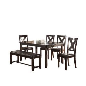 Loon Peak Jaylynn 3 Piece Dining Set Wayfair