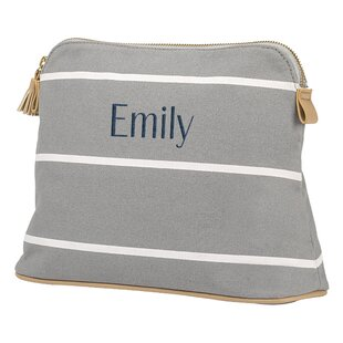 Cathys Concepts Striped Cosmetic Organizer