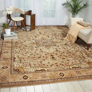 Antiquities Beige Area Rug by Kathy Ireland Home Gallery