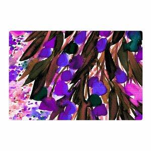 Ebi Emporium Botanical Regency Pink/Black/Purple Area Rug
