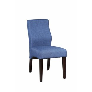 Ebern Designs Gippetti Sturdy Upholstered Dining Chair (Set of 2)