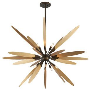 Corrigan Studio Kiera 10-Light Sputnik Chandelier