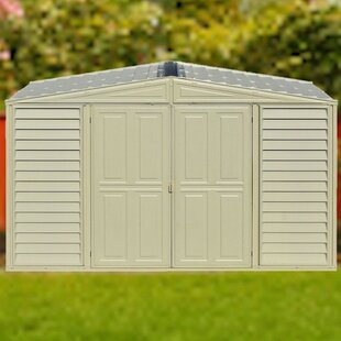 Woodbridge 10 Ft. W X 5 Ft. D Plastic Storage Shed By Duramax Building Products