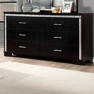 Affordable Price Hyde 6 Drawer Double Dresser by A&J Homes Studio