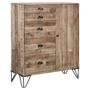 Rushden 4 Drawer Accent Cabinet by Williston Forge