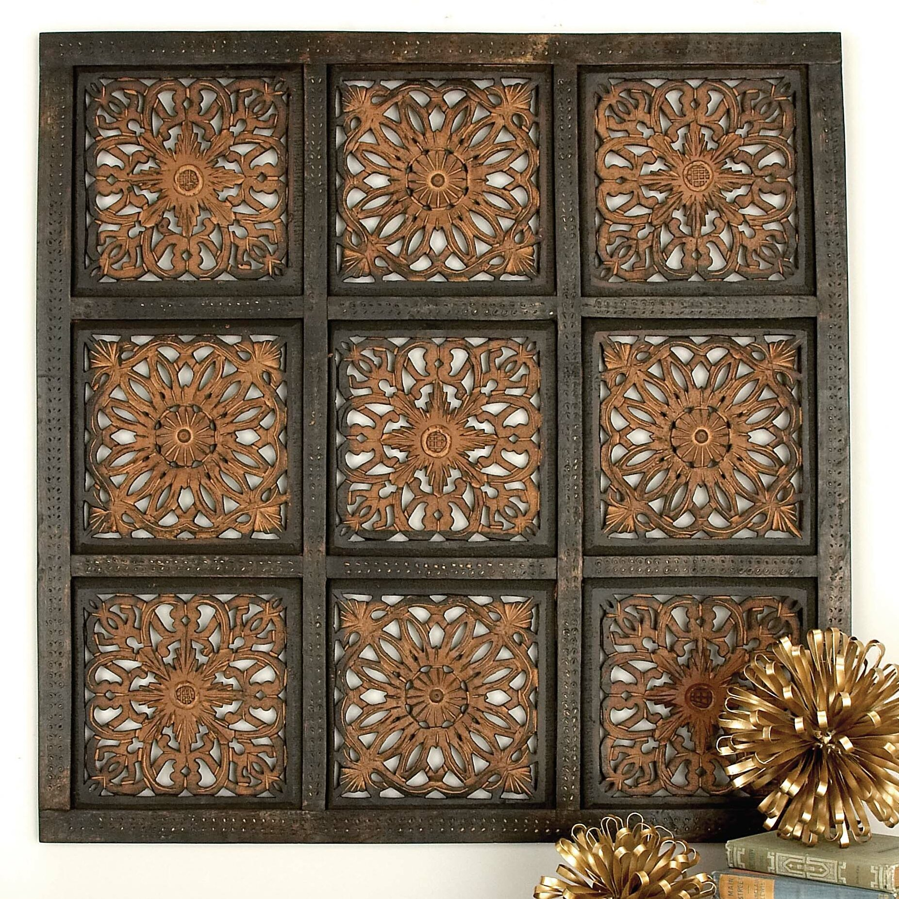 Cole Grey Wood Panel Wall Décor Reviews Wayfair