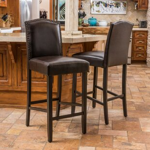 Baltimore 30 Bar Stool (Set of 2) Alcott Hill