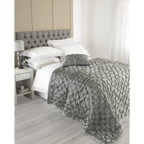 Tagesdecke Limoges House Additions Größe: 240 cm L x 250 cm B  Farbe: Grau   Heimtextilien > Decken und Kissen > Tagesdecken und Bettüberwürfe   House Additions