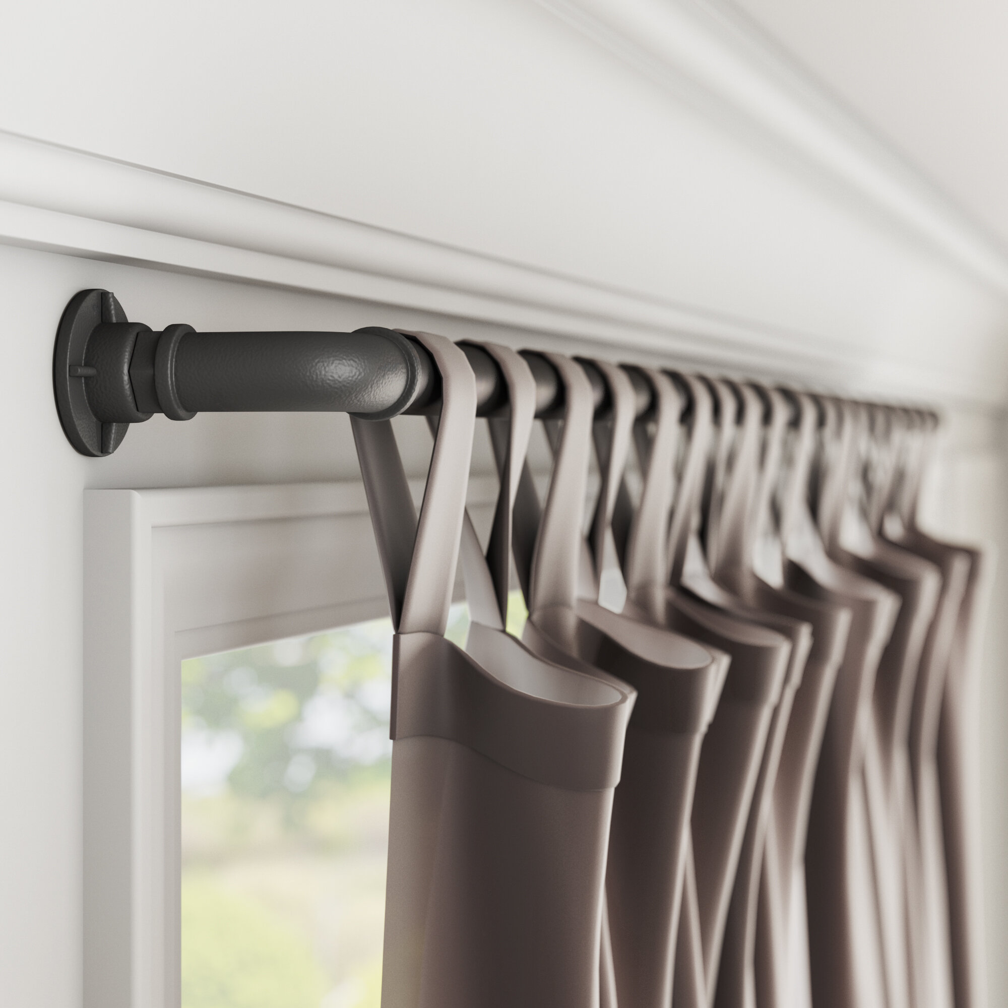 Picture of: Beach Theme Rods Curtain Hardware Accessories You Ll Love In 2020 Wayfair