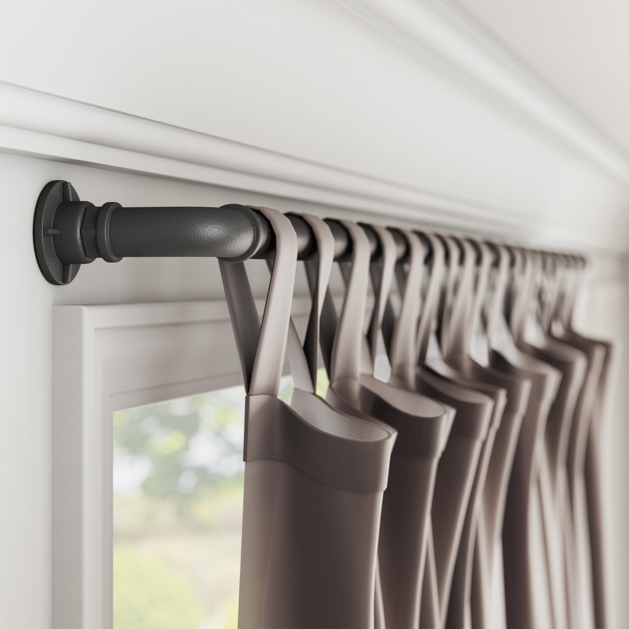 Hoffman Single Curtain Rod
