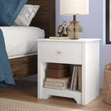 Olympia 1 Drawer Nightstand by Andover Mills™