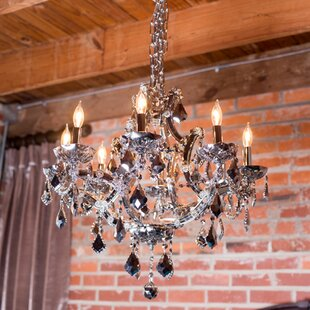 Zhora 8-Light Candle Style Chandelier by Willa Arlo Interiors
