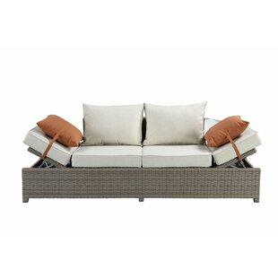 Platt Patio Sofa with Cushions by Gracie Oaks