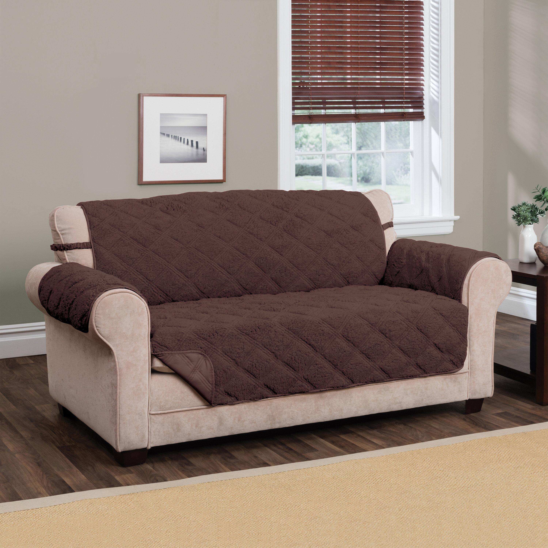 Sherpa Waterproof Sofa Slipcover