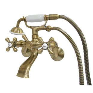 Kingston Brass Clawfoot Double Handle Tub..