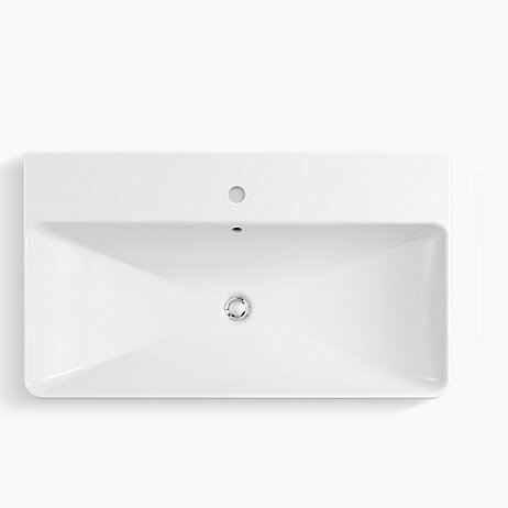 Kohler Vox Vitreous China Rectangular Vessel Bathroom Sink With Overflow Reviews Perigold
