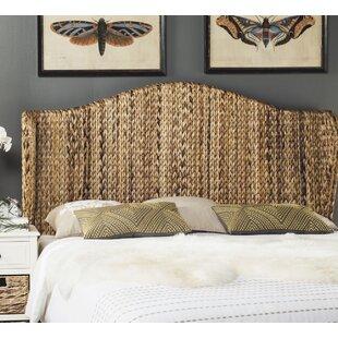 Farragut Twin Wingback Headboard by Beachcrest Home