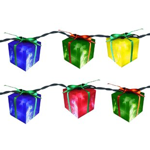 Brite Star 10 Light Gift Box String Light (Set of 2)