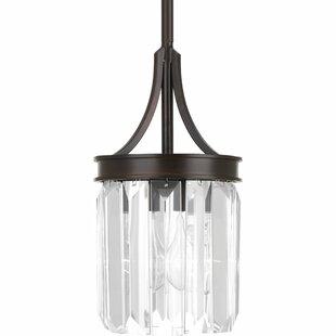 Greyleigh Hebron 1-Light Crystal-Pendant