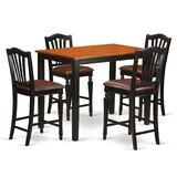 Socha Rubberwood Solid Wood Dining Set by Charlton Home®