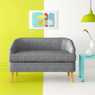 Apollo Fabric Loveseat by Hashtag Home SKU:EE942066 Shop