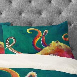 Clara Nilles Mardi Gras Octopus Pillowcase