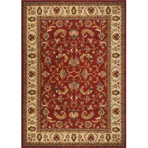 Caterina Red Area Rug