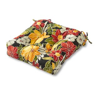 Indoor/Outdoor Dining Chair Cushion By Bay Isle Home