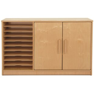 Whitney Plus Art Paper 2 Door Accent Cabinet