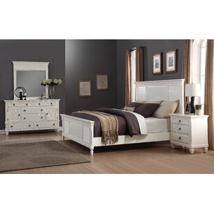 Stratford Queen Platform 4 Piece Bedroom Set