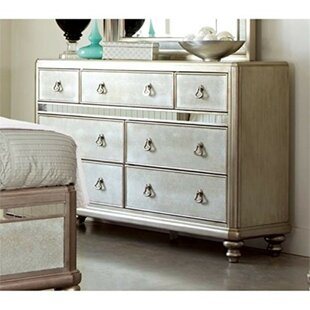Kelloch Wooden 7 Drawer Dresser