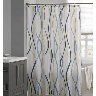 Mingus Printed Single Shower Curtain