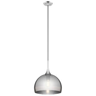 Wade Logan Maynor 1-Light Dome Pendant