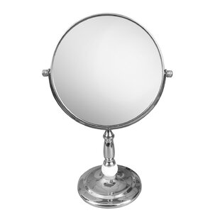 Elegant Home Fashions Freestanding Magnifying Makeup Mirror