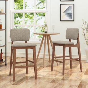 Boger Wooden 30.5 Bar Stool (Set of 2) by Corrigan Studio