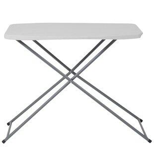 29l Height Adjustable Granite Rectangular Folding Table