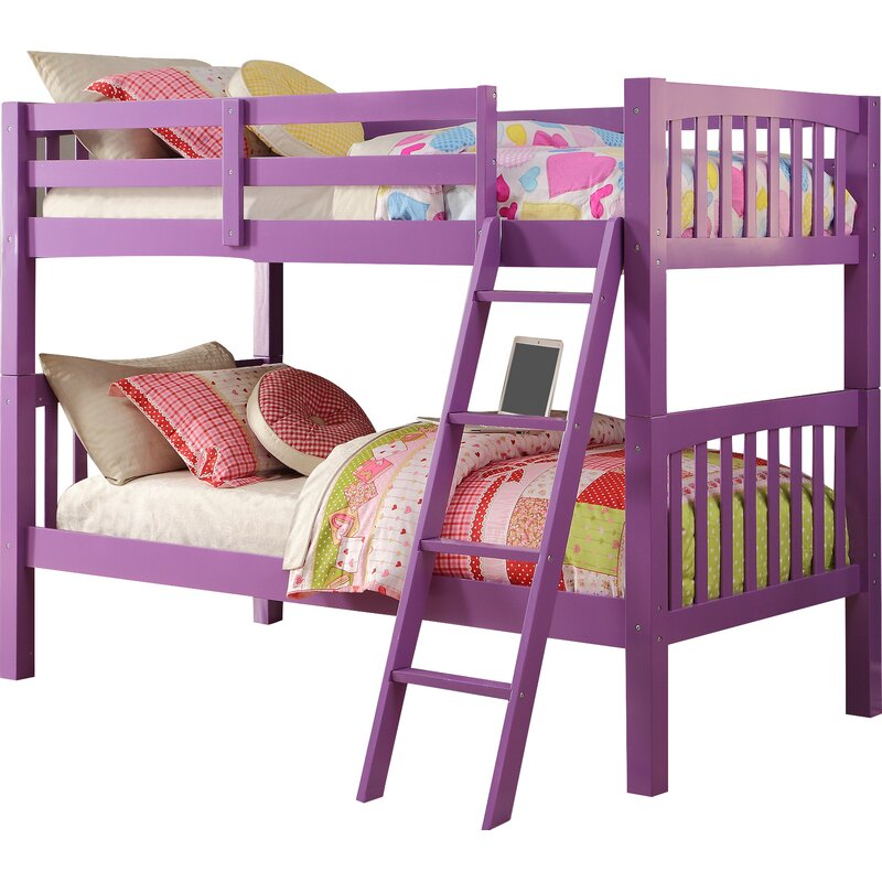 Zoomie Kids Ippolito Twin Over Twin Bunk Bed Amp Reviews