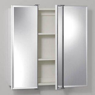 Rylan 24 x 24 Surface Mount Medicine Cabinet by Rebrilliant
