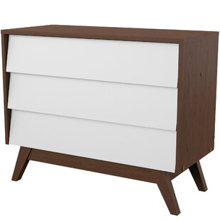 Ellenberger 3 Drawer Dresser by Mercury Row
