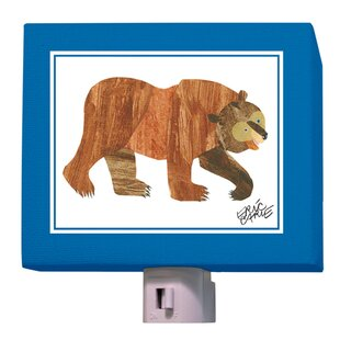 Oopsy Daisy Eric Carle's Brown Bear Night Light