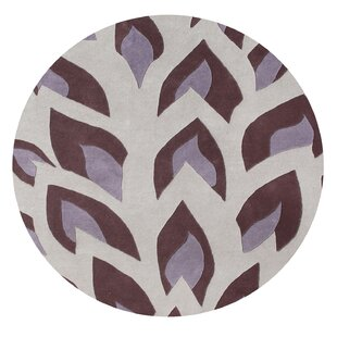 Comparison John Hand-Tufted Hushed Violet Area Rug By The Conestoga Trading Co.