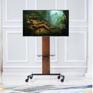 Mock Curved Flat Panel TV Stand for TVs up to 70