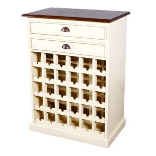 NES Furniture Carmen 30 Bottle Floor Wine Cabinet