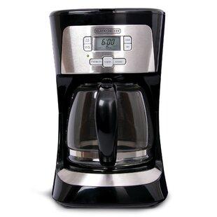 Black + Decker 12 Cup Programmable Coffee Maker